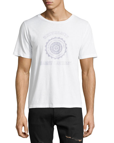 Vintage-Effect Graphic T-Shirt