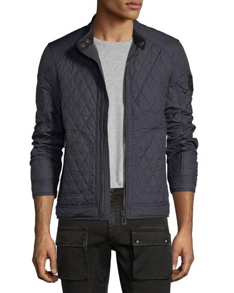 Bramley Quilted Zip-Front Jacket