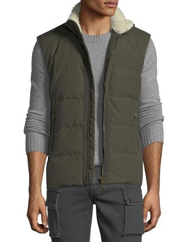 Fyfield Down Puffer Vest