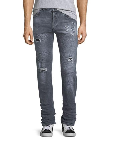 Marcelo Burlon Gya Regular-Fit Distressed Jeans
