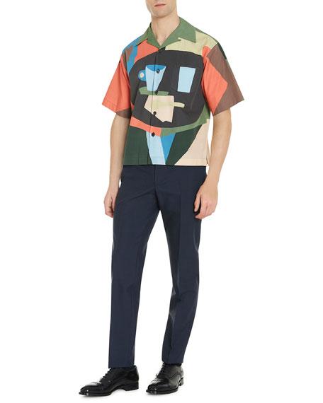 Mug-Print Short-Sleeve Shirt