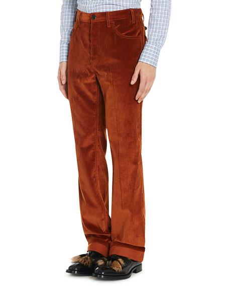 Flared Corduroy Pants