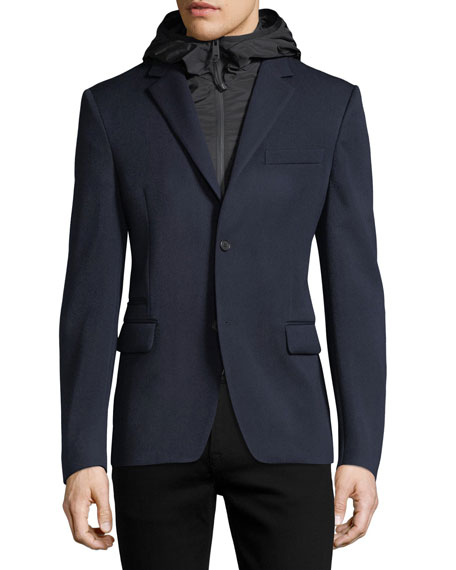 Wool Tech Blazer