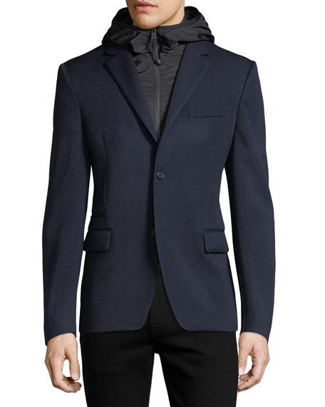 Wool Tech Blazer