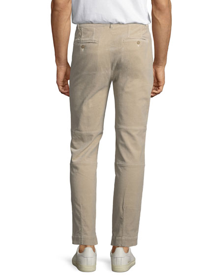 Garment-Wash Corduroy Utility Pants