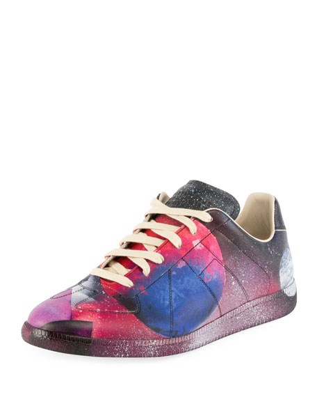 Replica Space Leather Low-Top Sneaker