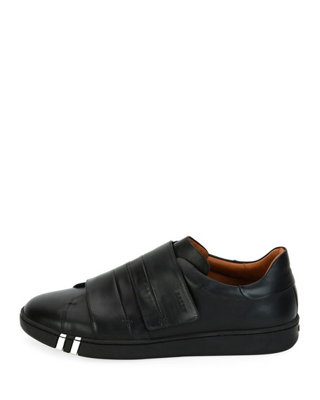 Willet Leather Grip-Strap Sneaker