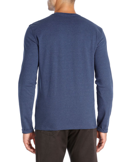 Melange Jersey Long-Sleeve T-Shirt