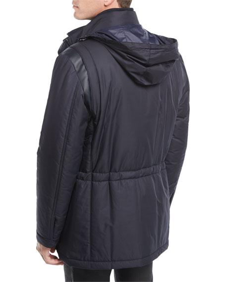 Technical Hooded Car Coat