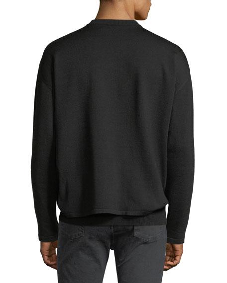 Paris Embroidered Crewneck Sweatshirt