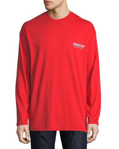 Long-Sleeve Campaign Logo T-Shirt