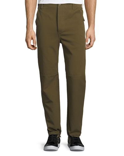 Seamed Gabardine Pants