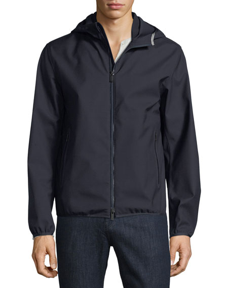 Techmerino Hooded Jacket