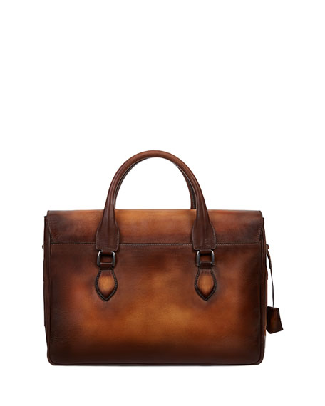 III Gloria Leather Briefcase