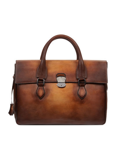 III Gloria Leather Briefcase