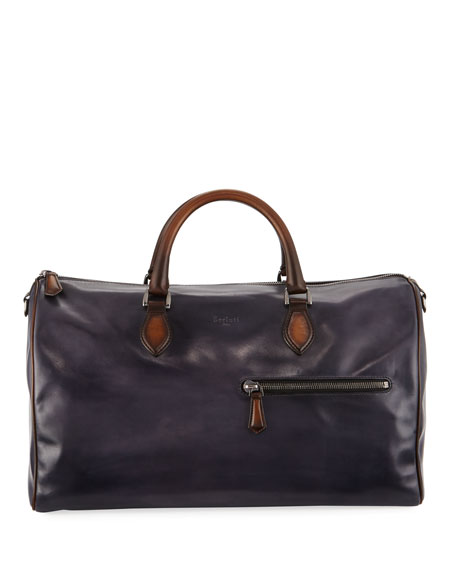 Jour-Off MM Large Leather Duffel Bag