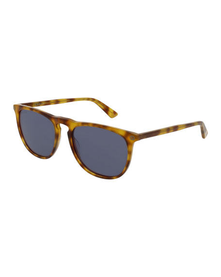 Gucci Acetate Pantos Sunglasses, Brown