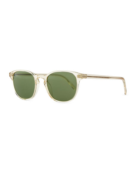 Oliver Peoples Fairmont Men's Acetate Sunglasses, Yellow