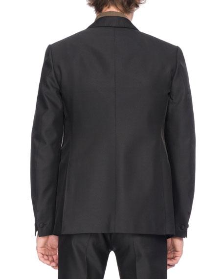 Wool-Silk Tuxedo Jacket