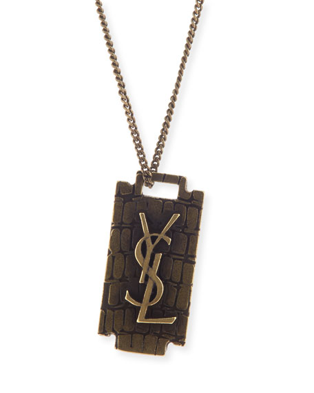 Razor-blade necklace Saint Laurent yX2Zr