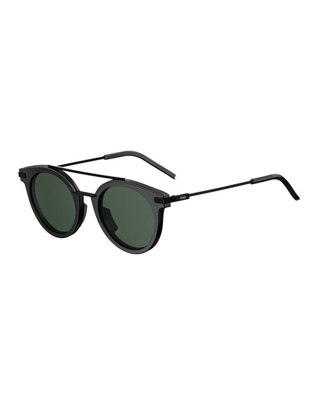 Fendi Urban Men's Round Sunglasses