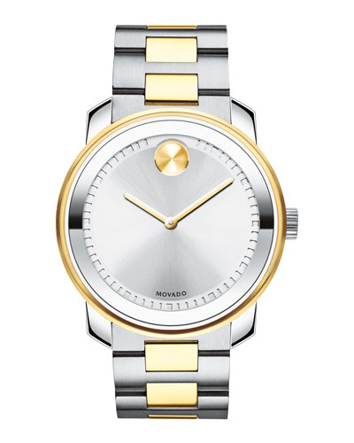 42.5mm Bold Stainless Steel Watch  Silver