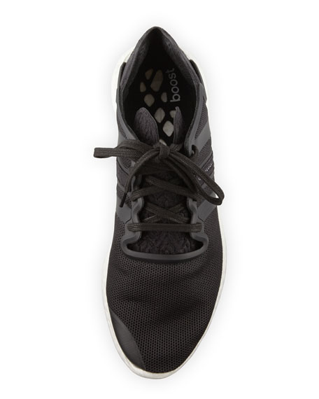 Men's Y-3 Yohji Run Sneaker, Black/White