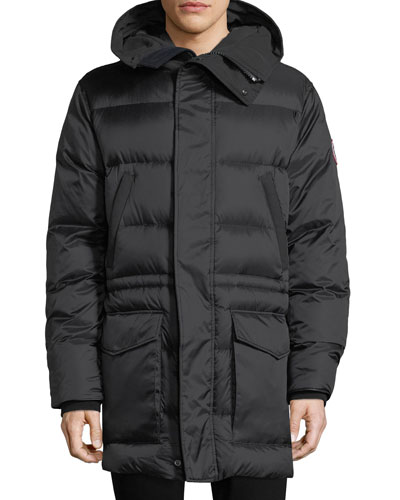 Silverthorne Hooded Parka Coat