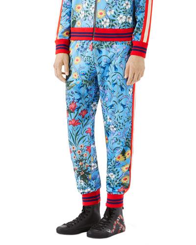 Floral Jogger Pants
