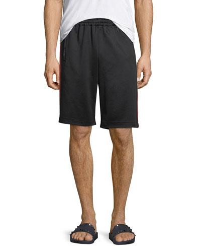 Web-Trim Technical Jersey Shorts