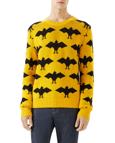 Bat Crewneck Sweater