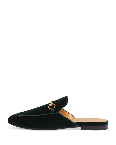 Kings Velvet Loafer Slide