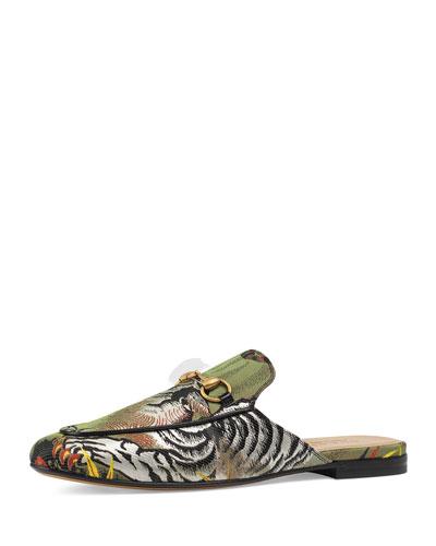Kings Tiger Jacquard Slipper