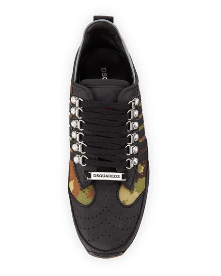 Men's 251 Sneakers w/ Camo Print