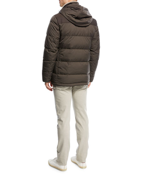 Twofold Puffer Coat