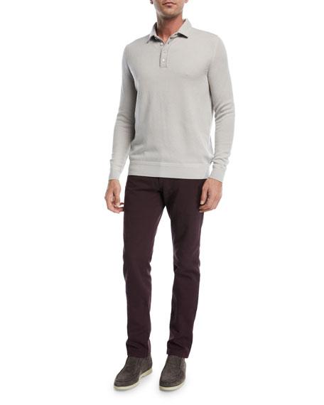 5-Pocket Slim-Fit Denim Jeans