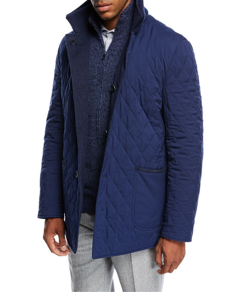Lakeside Reversible Quilted Jacket