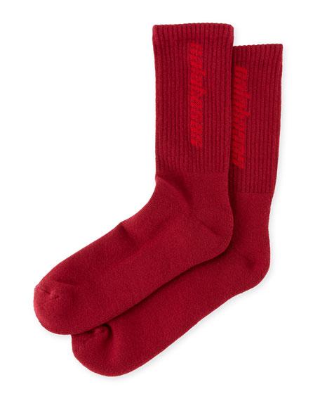 Calabasas Cotton-Blend Socks