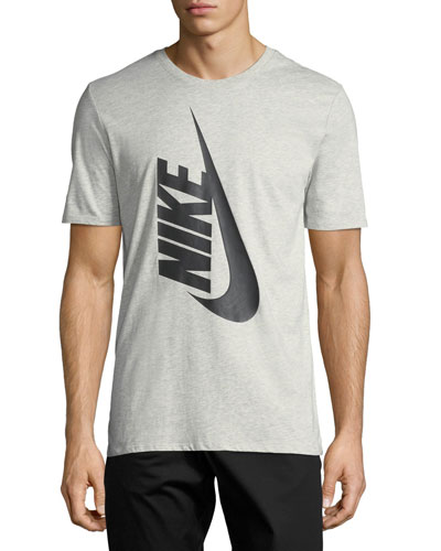 Nikelab Essentials Logo T-Shirt, Gray/Black
