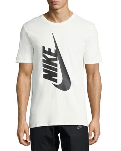 Nikelab Essentials Logo T-Shirt, Eggshell