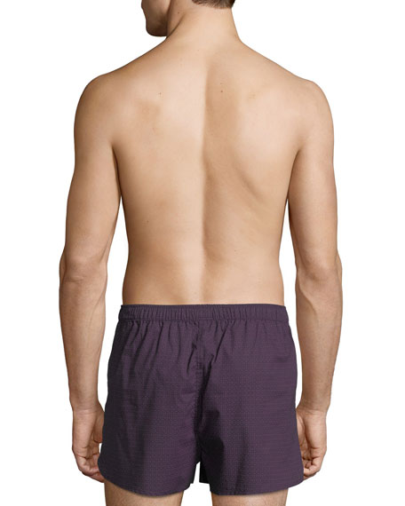 Nelson 60 Modern-Fit Cotton Boxer Shorts
