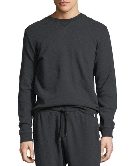 Devon 1 Leaf-Print Cotton Sweatshirt