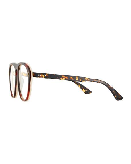 419d5ec202c Gucci Men s Acetate Aviator Optical Frames w  Sunglasses