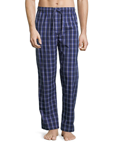 Barker 15 Check Cotton Lounge Pants