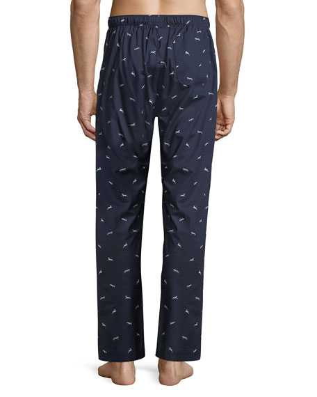 Nelson 61 Animal-Print Pajama Pants