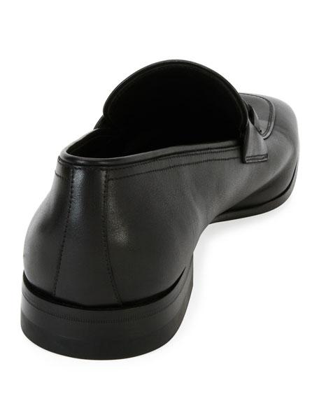 Soft Calfskin Slip On Gancini Loafer