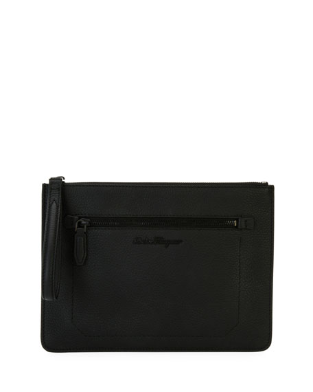 Medium Leather Portfolio Case