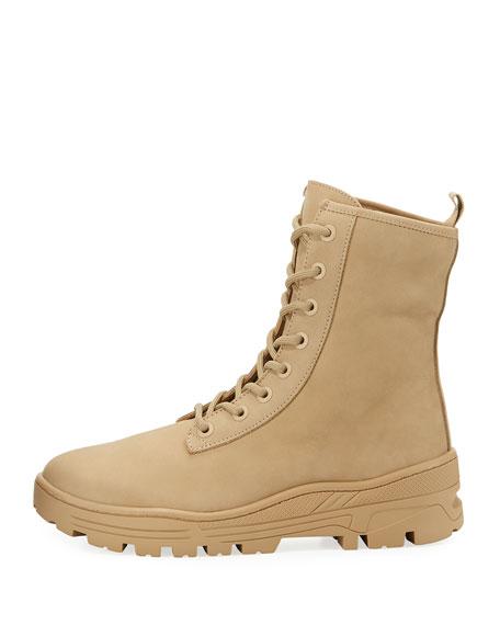 Nubuck Military Combat Boots