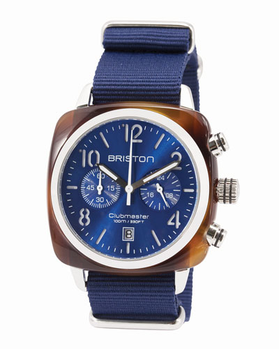 Clubmaster Classic Chronograph Watch, Navy