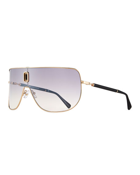Metal Shield Sunglasses